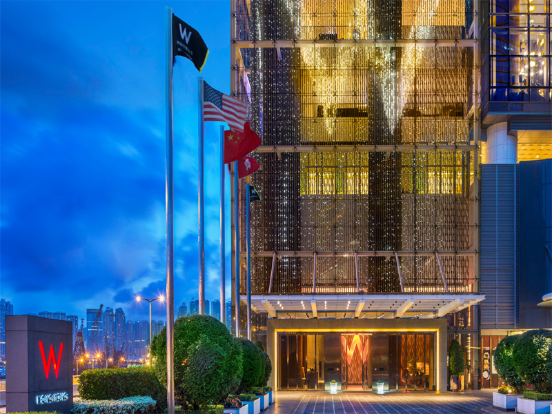 W HONG KONG HOTEL REVIEW